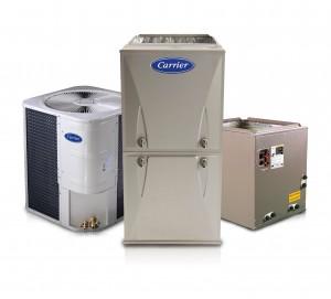 Calefactor a gas duo r410a conjunto de fr o carrier for Maquinas de aire acondicionado baratas
